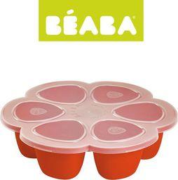 Beaba Beaba Silikonowy pojemnik do mrożenia 6 x 90 ml paprika - 912559