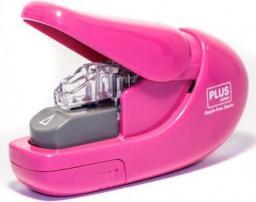 Zszywacz Plus Staple-Free 6 kartek SL-106-AB, różowy