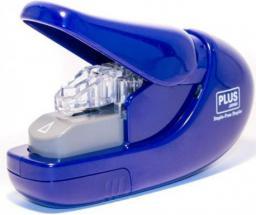 Zszywacz Plus Staple-Free 6 kartek SL-106-AB, niebieski