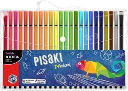 Derform Pisaki w etui 24 kolory KIDEA - 244186