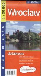Wrocław. Plan miasta 1:20 000