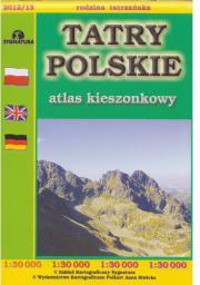 Atlas kieszonkowy - Tatry Polskie 1:30 000