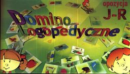 Samo-pol Gra - Domino logopedyczne J-R SAMO-POL - 188083