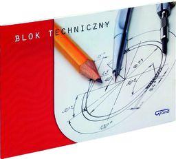 Blok biurowy Grand Blok techniczny A3/10K biały GRAND - 198288