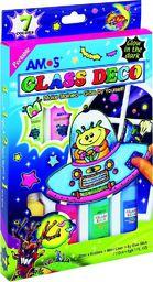 Amos Farby witrażowe Glass Deco 7 kolorów blister (134295)