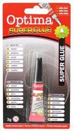 Optima Klej Super Glue 3g OPTIMA - 239422