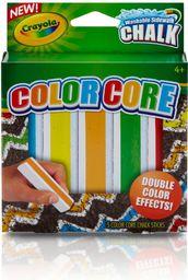 Crayola Kreda chodnikowa 2 kolorowa 5 kolorów CRAYOLA - 160633