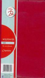 ANTRA Wizytownik 96 trzyklatkowy 728 czerwony (233371)