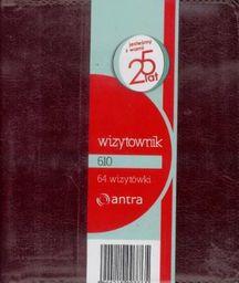 ANTRA Wizytownik 64 dwuklatkowy 610 brąz (233388)