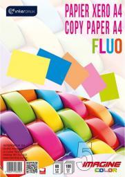 Interdruk Papier ksero A4 80g Mix kolorów Fluo 100 arkuszy