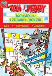 Arystoteles Tom i Jerry. Łamigłówki i zabawy logiczne, czerwone (218049)