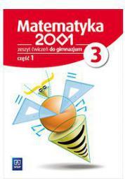 Matematyka 2001 gimnazjum 3/1 ćwiczenia