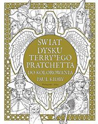 Świat Dysku Terry`ego Pratchetta do kolorowania