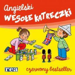 Język angielski. Wesołe karteczki. Czerwony bestseller
