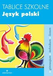 Tablice szkolne Język polski GIMN LO / 2014
