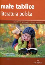 Małe tablice Literatura polska SP kl.7-8 GIMN LO / 2017