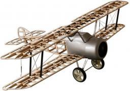 DWhobby Samolot Sopwith Camel Balsa KIT + Motor + ESC + 4x Serwo (DW/EWCA-04A)