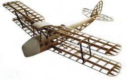 DWhobby Samolot Tiger Moth Balsa KIT + Motor + ESC + 4x Serwo (DW/EWTM-05A)