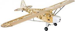 DWhobby Samolot Piper J-3 Club Balsa Kit + Motor + ESC + 4x Serwo (DW/EWJ3-04A)