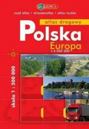 Polska. Atlas 1:500000 + Europa