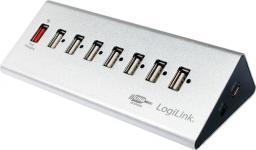 HUB USB LogiLink 7xUSB 2.0 Aluminium (UA0225)