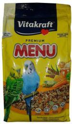 VITAKRAFT  Menu Vital Papuga falista - Miodowa 1kg