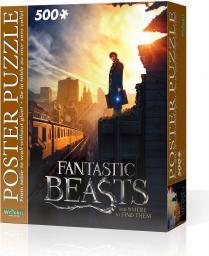 Tactic Wrebbit Puzzle plakatowe 500 elementów, Fantastic Beasts - New York City