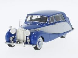 Neo Models Rolls Royce Silver Wraith Empress Hooper Empress Line RHD 1956 (blue/grey)