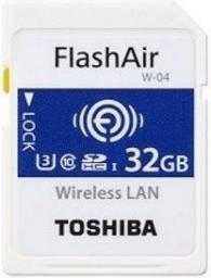 Karta pamięci Toshiba FlashAir W-04 SDHC 32GB Class 3 (THN-NW04W032E6)
