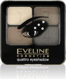 Eveline Quattro Paletka 4 cieni do powiek  10 5,2g