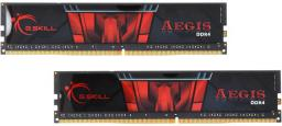 Pamięć G.Skill Aegis, DDR4, 8 GB,2400MHz, CL17 (F4-2400C17D-8GIS)