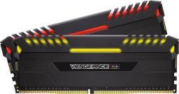 Pamięć Corsair Vengeance LED, DDR4, 32GB,3000MHz, CL15 (CMR32GX4M2C3000C15)
