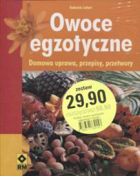 Owoce egzotyczne / Storczyki / Clematis Najpiękniejsze gatunki powojników. Pakiet 3 książek.