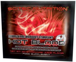 Scitec Nutrition Hot Blood 3.0 guarana [20g] 1 sasz.