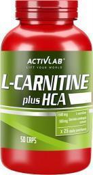 Activlab L-Karnityna HCA Plus 50 kapsułek