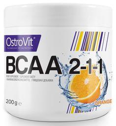 OstroVit BCAA 2:1:1 Pomarańcz 200g