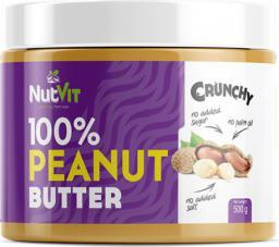 OstroVit NutVit 100% Peanut Butter Crunchy 500g