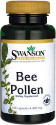 Swanson Bee Pollen 400mg 100 kaps.