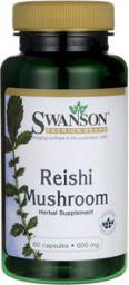 Swanson Reishi 600mg 60 kaps.