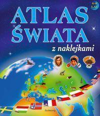 Atlas świata z naklejkami - WIKR-018752