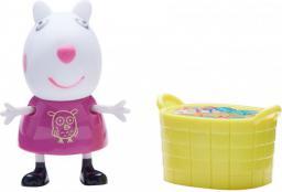 Tm Toys Peppa zestaw figurka owieczka Suza z koszem na zabawki (PEP 06381)