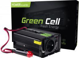 Przetwornica Green Cell Samochodowa 12V do 230V, 150W/300W (INV06)