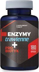Hepatica Enzymy trawienne   Probiotyk 180 kapsułek