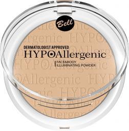BELL HypoAllergenic Face&Body Illuminating Powder hypoalergiczny rozświetlacz do twarzy i ciała 02 6g
