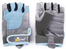 Nutrifarm Rękawice treningowe damskie Fitness One Olimp Blue r. L