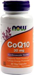 NOW Foods Coenzyme Q10 30mg 60 kaps.