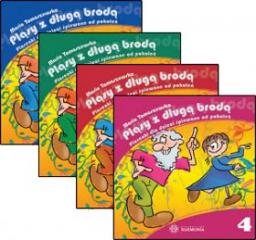 Pląsy z długą brodą. Piosenki dla dzieci śpiewane od pokoleń (płyty CD)