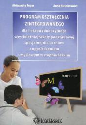 Program kształcenia zintegrowanego dla I etapu edukacyjnego...