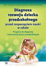 Diagnoza rozwoju dziecka przedszkolnego (...) Program...
