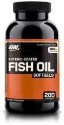 Optimum Nutrition Fish Oil 200 kapsułek